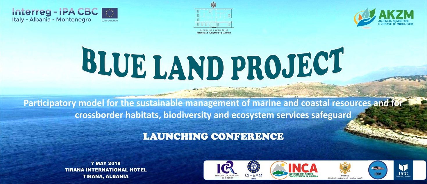 Blue Land project poster