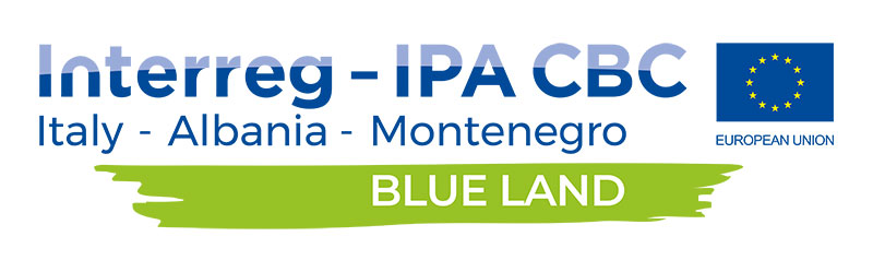 BLUE LAND project logo